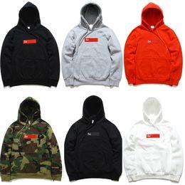 Wholesale Sleeve Styles Men - 2016 Wholesale High Fashion suprem painting Hoodies brand hip hop clothing blouses Popular logo men poloshirt plus size 7 style