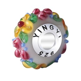 Directly factory price Professional Crystal Roundel Jingmengde experienced glass bead for Jewelry Making 6pcs lot
