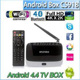 Wholesale Android TV Box Q7 CS918 Full HD P RK3188T Quad Core Media Player GB GB XBMC Wifi Antenna Remote Control V763