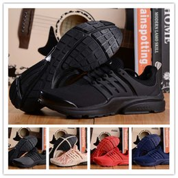 Wholesale AIR PRESTO BR QS Breathe Black White Mens Basketball Shoes Sneakers Women Running Shoes For Men Sports Shoe Athletic Walking designer shoes