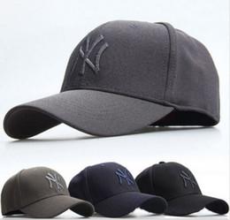 Wholesale Mens Women Baseball Hat NY YANKEES Cap Curved Flex Snapback Sport Golf Hip Hop Hat Outdoor Hiking Quick drying Cap