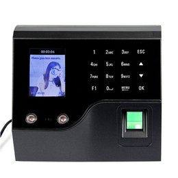 Wholesale Biometric Time Recorder Security Products Fingerprint Terminal Fingerprint Time Attendance F6130A