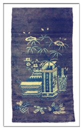 Wholesale Mongolia Antique Carpets All Handmade or vegetable dyeing or wool The Rug From Baotou