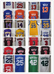 Wholesale 2016 New Rookies Jerseys KD Rose horford ingram noah simmons wade rondo Gear Mix order Drop Shiping Best Qulaity