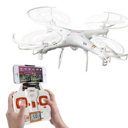 Wholesale Genuine X6sw RC Helicopter drone quadcopter professional drones With C4005 Wifi Fpv Camera VS X600 x5sw