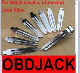 Folding key blanks For Buick excelle, Chevrolet Lova Kino Car key embryo replacing the key head NO.39