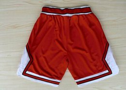Wholesale Chicago Basketball Shorts New Material Rev Sport Shorts Best quality Authentic Shorts S XXL Accept Mix Order