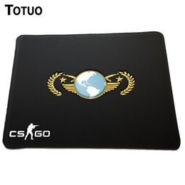 Wholesale Counter Strike Global Offensive Event the global elite rank logo Covered edge Mouse mouse pads sign Best Optical large mouse mat