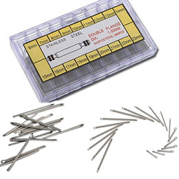 Wholesale Cotter Pins Wholesale - Wholesale-Best Promotion!!!360pcs 18 Size 6mm-23mm Stainless Steel Assortment Watch for Link Cotter Pins Repair Tool Sets Lowest Price