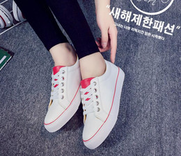 All the games for the summer shoes female Korean lace canvas shoes, casual shoes and white women students35-40