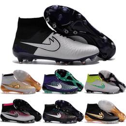 Wholesale 2016 New Soccer Shoes Magista Obra FG Men ACC Football Shoes Good Quality Cleats Original Discount Hot Sale TPU Sports Boots