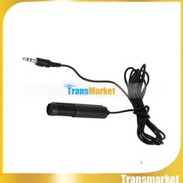 Wholesale Mini Portable Wired USB Condenser Online Video Chat Skype Mic Microphone for Computer Black SF