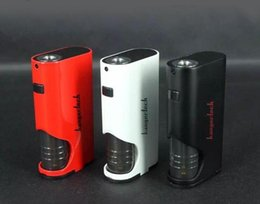Wholesale Original kanger dripbox kit have max W output ml Juice capacity battery drive ohm coil VS terminator mod starter kit