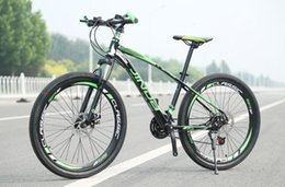 Wholesale 2016 The new advanced Aluminum Alloy material inch speed steel knife Straight handlebar Cycling factory mountain bike