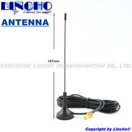 Wholesale-10 pcs 400-470mhz uhf mini magnetic base two way radio walkie talkie antenna sma female connector for baofeng wouxun etc. radio