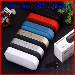 Wholesale 2016 beast pill speaker best bluetooth Pill XL speaker TF AUX USB wireless big sound box pk BT50 BT808