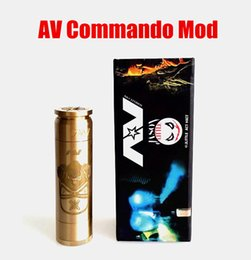 Wholesale AV Commando Mod clone AVID LIFE jlittle act ABLE mechanical design from CLOUD CHASING ACADEMY for Battery rda