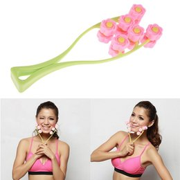 Free Shipping Flower Type Elastic Handle Facial Massager face lift anti cellulite face care beauty slimming products