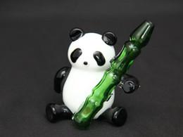 glass somking pipes Panda Pyrex borosilicate glass smoking pipe factory price wholesale glass bong Free Shipping