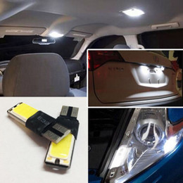 10x White T10 168 194 2825 W5W 2886x High Power COB LED Bulb Car Vehicle Light