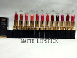 Wholesale hot selling new arrive MAKEUP g rouge coco matte lipstick colors