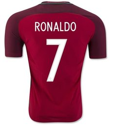 Wholesale Thai Quality Customized RONALDO Home Red Soccer Jerseys Shirt F COENTRAO Football Jersey J MOUTINHO MIGUEL Soccer Wear