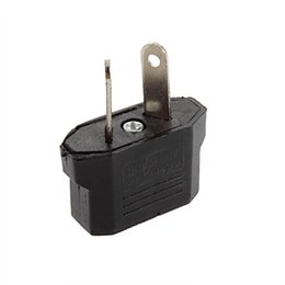 Wholesale Universal Travel US or EU to AU AV Plug Adapter Converter USA to Euro Europe Wall Power Charge Outlet Sockets