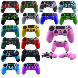 Wholesale Hot Soft Silicone Protective Sleeve Case Skin Grip Cover For SONY Playstation PS4 CMicrosoft Xbox One Xbox Wireless Controller
