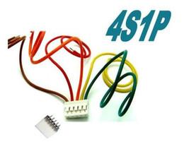 500 pair 150mm RC lipo battery balance charger plug 4S1P Wire Line Cable Imax b6 plug