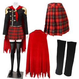 Game Cosplay Generic Final Fantasy Type-0 Sice Cosplay Costumes with Cape Accessories For Christmas Halloween Party
