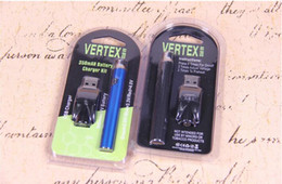 Multi Voltages 350mah E-cigarette L0  Lo Battery Blister Kit Slim BHO Pen 510 E Cigarettes Nextrend Slim Bud Touch Open Vape .5ml Cartomizer