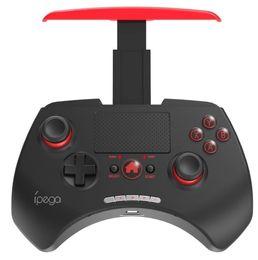 "Compra Online Pc joystick-IPEGA PG-9028 Controlador de juegos inalámbrico Bluetooth Gamepad Joystick 2.0 ""Touch Pad para Android iOS Tablet PC TV Box"