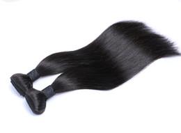 2017 peut teindre remy extensions de cheveux Vente de 30%! Extension de cheveux humains Malaysian 8A année Remy, peuvent être teints et restylé malaysian trame de cheveux slik cheveux raides 2 / 3pcs / lot peu coûteux peut teindre remy extensions de cheveux