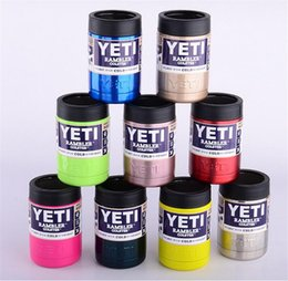 Wholesale 9 colors OZ YETI cup coolers oz Colsters Stainless Steel Insulation Cups colorful Rambler Tumbler cup coffee mug Cars Beer best