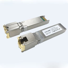 Cisco compatible copper SFP transceiver 10Gbase-T GLC-10G-T RJ-45 connector 30-Meter hot-pluggable bi-directional data link