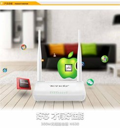 Répéteur sans fil à la maison à vendre-Routeur WIFI sans fil Tenda WI-FI Répéteur Booster Extender Home Network 802.11 b / g / n 300Mbps RJ45