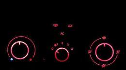 3Pcs Black CHROME Set Switch Knob Air AC CONTROL fit for VW PASSAT JETTA Touran Switches