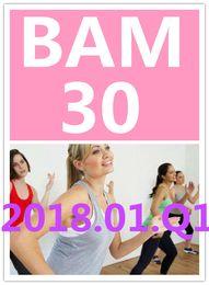 Top-sale 2018.1 January Q1 New Routine SH BAM 30 Aerobics Exercise Fitness Videos BAM30 SH30 Video DVD + Music CD