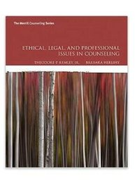 Wholesale new Ethical Legal and Professional Issues in Counseling th Edition by Theodore P Remley Jr Barbara P Herlihy ISBN