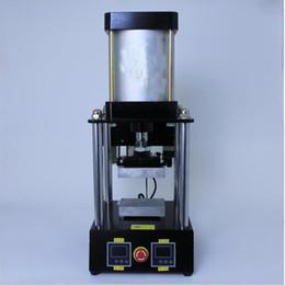 Wholesale Best sale pneumatic high pressure dual heating press New Arrival Desktop Mini Rosin Press for home Rosin Press production