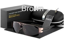 Anti-Glare Coating brand Sunglasses Polarized Mercury coated anti reflection Aluminum magnesium alloy frame outdoor protect glasses E006