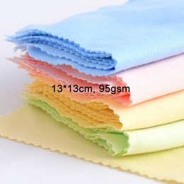 Wholesale 13 cm Microfiber Cleaning Cloths for LCD LED Tablet Phones Computer Laptop Glasses Lens Eyeglasses Wipes Dust Washing Cloth gsm