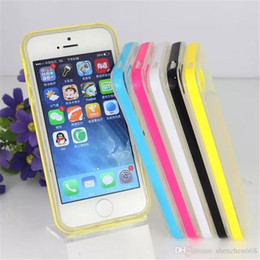 For Iphone 6 Case Iphone 6 Plus Case Mat PC+TPU Soft Clear Transparent Gel Cover Cases For Iphone6 IPHONE 5 5S Galaxy S5 M-SW