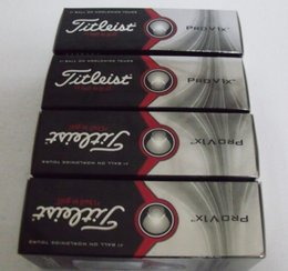 Wholesale DHL dozen good quality New pro V1 V1x golf ball balls Clubs with box