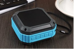 Wholesale New Cheap waterproof anti fall outdoor sports Wireless Bluetooth speakers audio support mobile phone transmission play music DHL