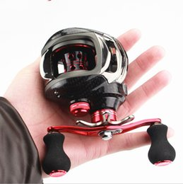 Wholesale POINT BREAK Red Axial Magnetic Brake Professional Water Drop Fishing Rods Wheels Right Hand Fishing Wheel Fishing Vessels