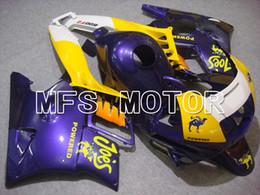 Descuento 91 carenados honda cbr Juego de carenado apto para Honda CBR600 1991 1992 1993 1994 CBR F2 91-94 Kit de moldes de plástico de plástico Kits
