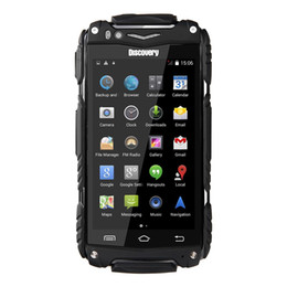 Wholesale Luowan Discovery V8 Dustproof Shakeproof Smartphone Rugged Android Phone Mtk6572w Cortex A7 Dual Core ghz