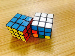 Wholesale Hot Sale New Mic Rubik Cube X3x3 cm Puzzle Magic Cube Game adult children educational toys Epacket Free