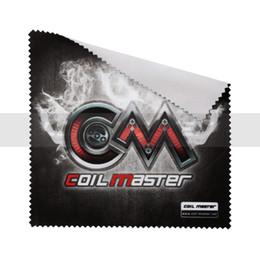100% Original Coil Master Polishing Cloth for Vape Products rdas, mods Polishing Coil Master Vape Cloth